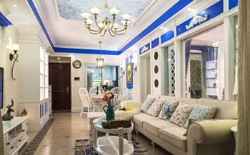 今朝装饰 建筑庭院地中海风格