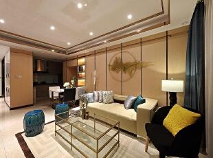 福州中宅装修106平现代简约风格