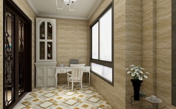 Y云南保山香槟庄园129㎡(欧式3室2厅)KJL-A3