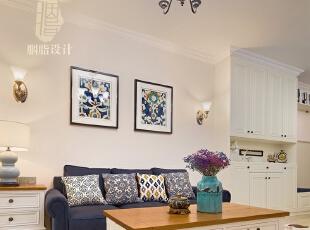 ,客厅,白色,原木色,蓝色,灯具,客厅,白色,原木色,蓝色,灯具,