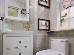 ▼由原来单个卫生间相隔而来,设计了相对独立的淋浴区和马桶。 ▼梳妆镜采用的是带收纳功能的镜前柜,方便收纳洗漱用品,卫生间,白色,收纳,