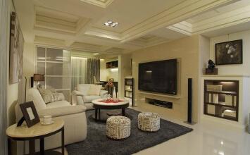 190平米四室两厅法式新古典主义