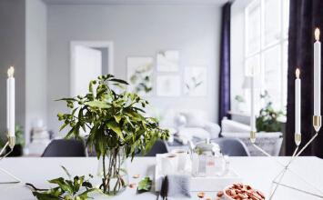 北欧风格灰色系一居室小户型装修效果图
