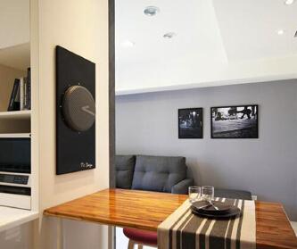 现代风格简约两室一厅...