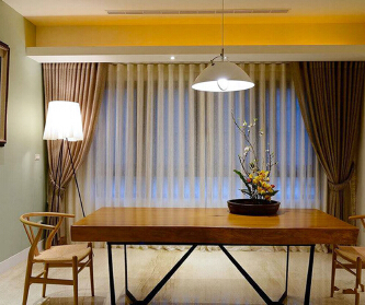 新中式风格精致室内装...