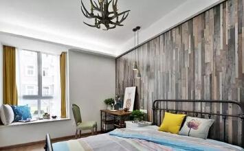 120㎡美式风格的房...