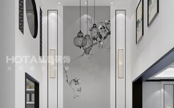 宝安江南城中式风格