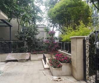 雅居乐国际花园吊顶-贴砖...