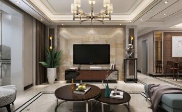 新合作180㎡三室两厅港式风格装修效果图设计作品