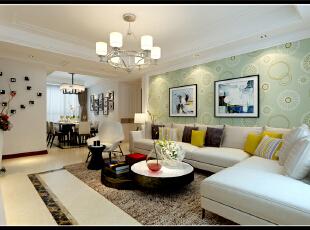 保利华庭现代风格装修实景图满满的舒适感