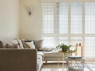,客厅,原木色,窗帘,过道,