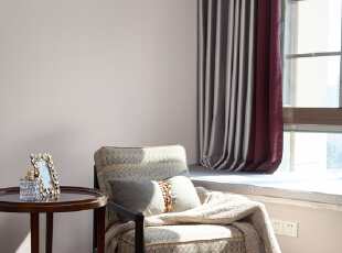 晓安设计在美式色彩下家的春暖与花开