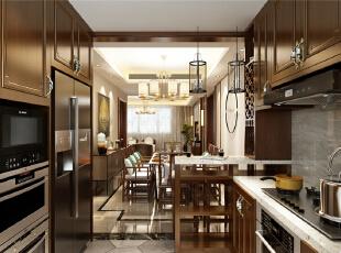 黄金山水郡六期四室新中式装修效果图精致的刚好