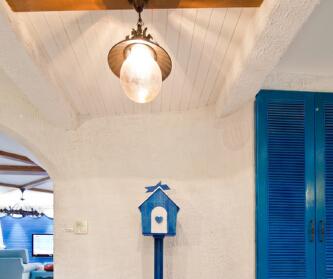 地中海蓝色风情~圣托里尼...