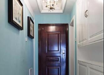 美式风格入户门设计