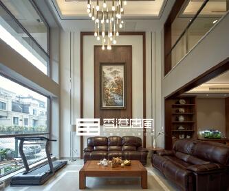 济南领秀公馆现代风格...