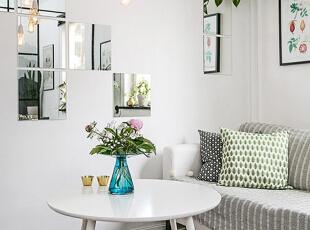 ,客厅,春色,白色,黑白,