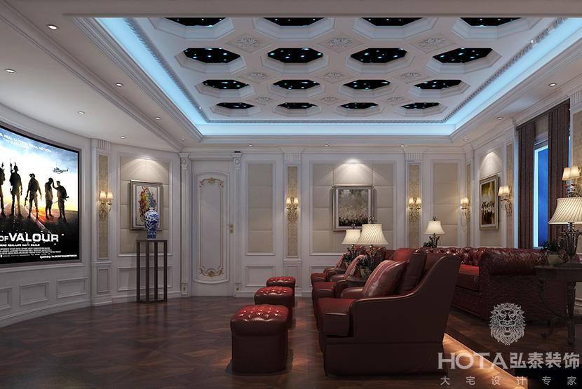 玛歌庄园-1000平米别墅欧式风格-谷居家居装修设计