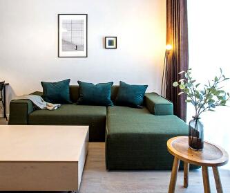 小而美的公寓,就是这么酷...