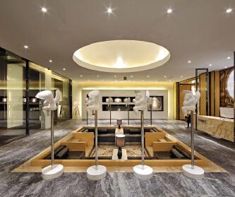 商业空间-展厅设计|【道...