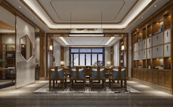 中式别墅设计:仁山智...