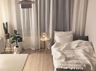 ,卧室,白色,原木色,黑白,