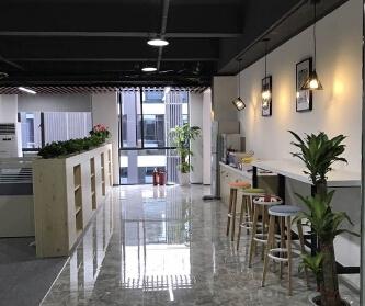 深圳坂田办公室装修设计案...