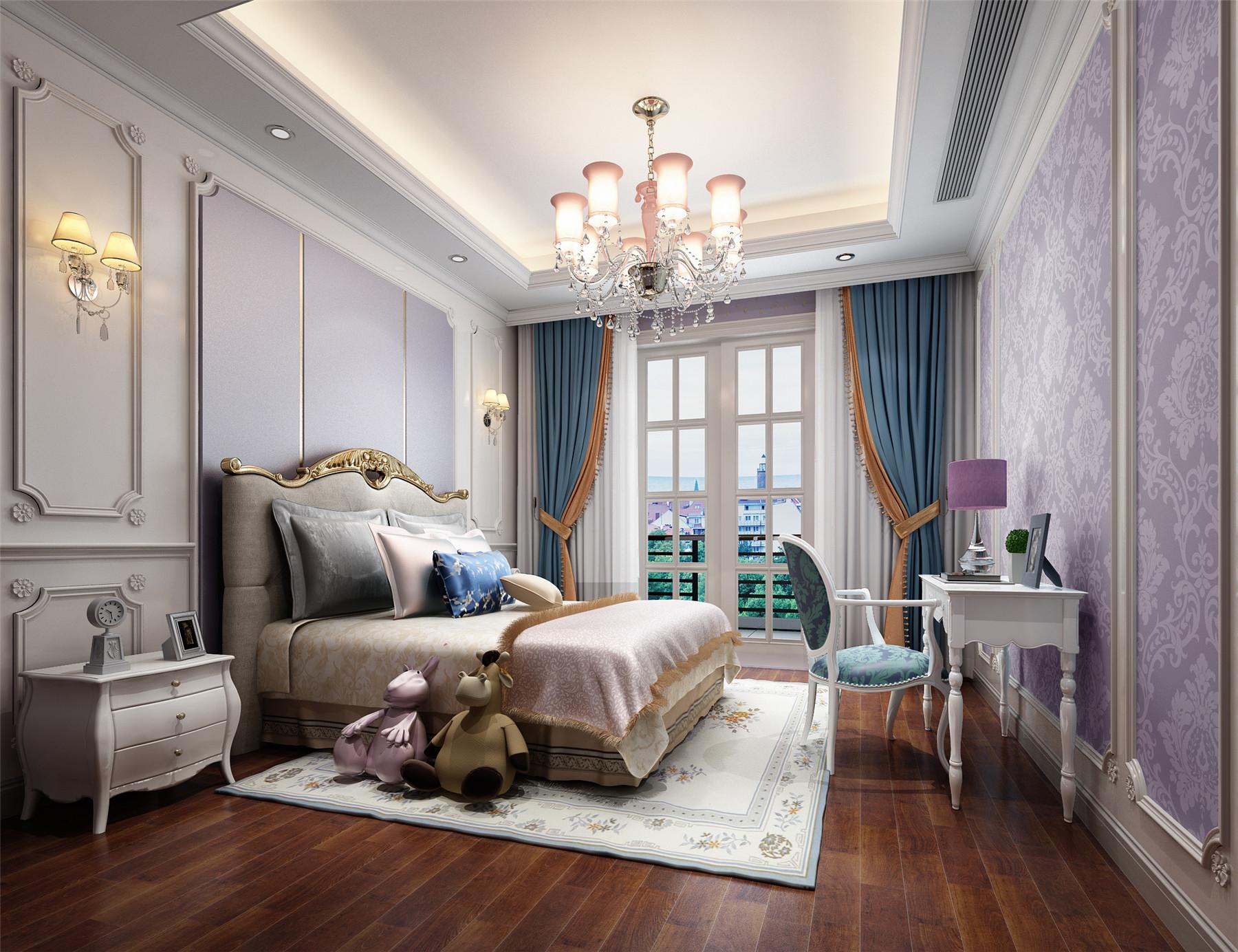 金大元-500平米别墅欧式风格-谷居家居装修设计效果图