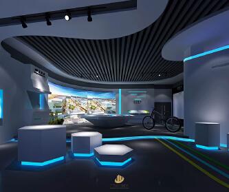 深圳展厅装修设计-创意银...