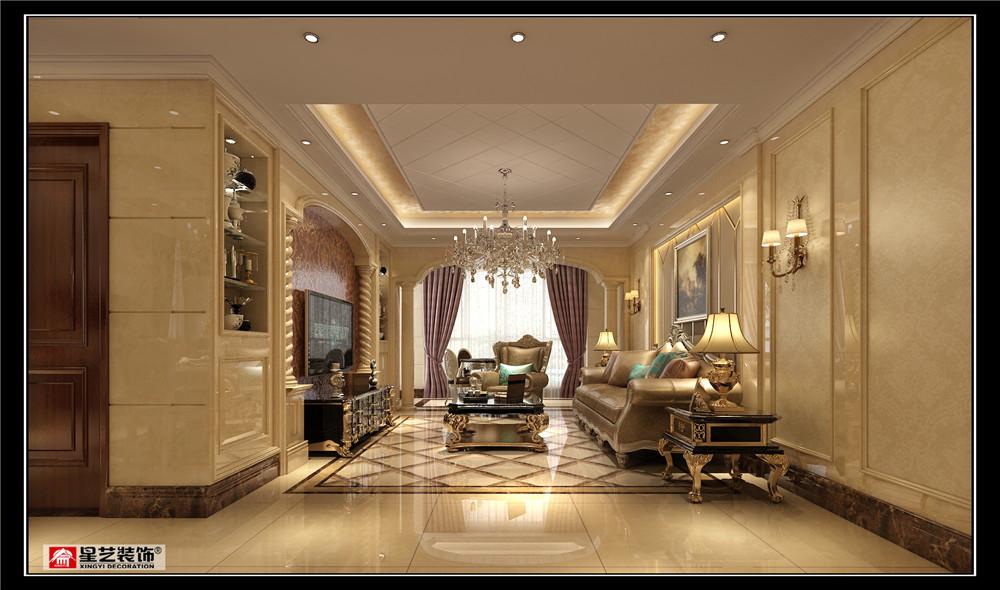 贵阳复式洋房装修设计,金融中心中天润玺250平案例!本案是一套一二楼的复式客餐厅挑高户型,业主一家四口人居住,首先就是要满足其最基本的卧室居住功能,业主希望可以给女儿增加一个书房娱乐的空间,设计成一个具有欧式韵味,大气温馨有家有爱的居住空间。为了满足业主的心愿,设计师在原本挑高的餐厅上方搭建了水泥楼板,经过后期的书桌书柜栏杆的布置摆设形成一个开放式的书房。