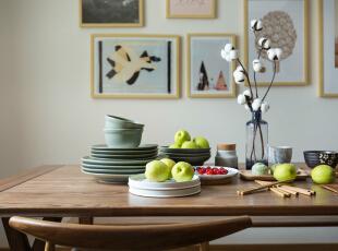,餐厅,春色,原木色,墙面,收纳,