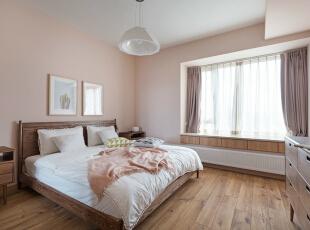 ,卧室,春色,原木色,墙面,收纳,