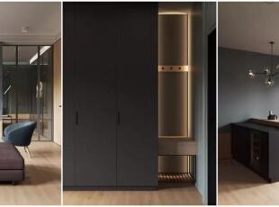 61m²小宅,只是改变了玄关布局,就让家变大不止30㎡!