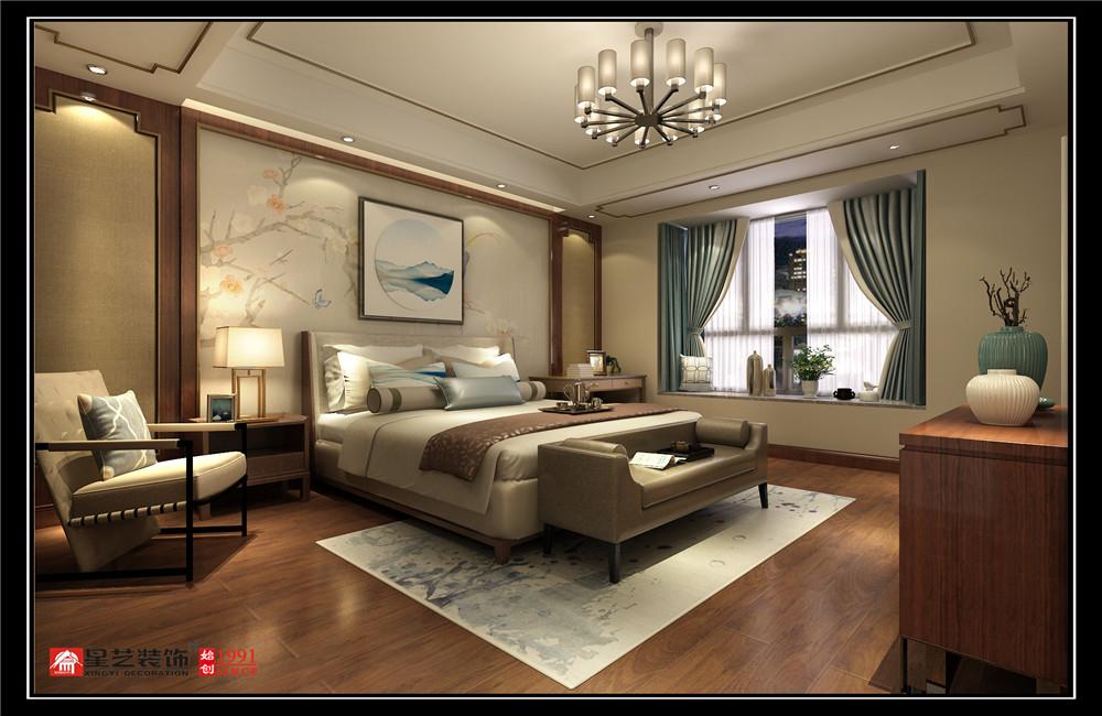 贵阳大平层装修,经典天成中式风格设计效果图汇总!业主自身是做建筑设计的,也算是半个同行,在自己房子的装修设计上有自己的一些构思,通过与业主的详细沟通,对业主性格喜好的分析,本案选择了中式风格。 客厅简洁的雕花,朴素的家具,自然气息浓郁的沙发背景,仿若有淡淡的花香,悦耳的鸟语,加上一抹宁静的蓝,宜人的绿,优雅 高贵的蝴蝶兰,无一不彰显着主人低调随和,优雅高贵,从容大气的性格特点。 白色半透明的的窗帘,看望阳台外面的风景,若隐若现的仙境犹如18岁的少女在河流中沐浴更衣。 餐厅的设计优雅高贵,从容大气,红木家具