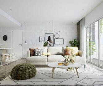 温馨舒适小公寓设计~ ...