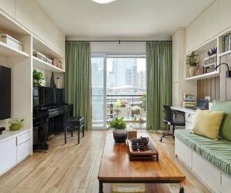 现代风格二居室  小家...