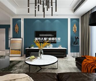 枣庄未来城三室两厅装修设...