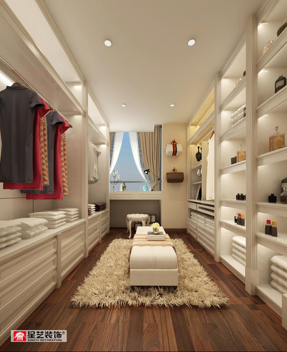 贵阳保利公园低调奢华欧式风格别墅设计空间!