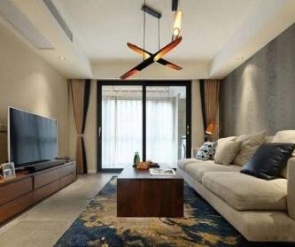 现代简约三室两厅设计...