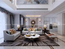 高唐赛石公园壹号245平别墅,欧式风格装修方案