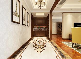 看贵阳业主如何把两套房打通装修设计成大平层住房!