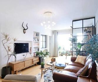 70㎡北欧风格两居室...