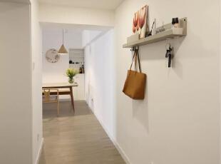 超治愈!小夫妻85㎡的极简风新房,从进门开始都是亮点!