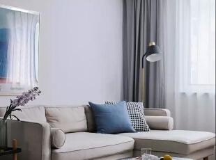 69㎡舒适北欧2室2厅,打造清新舒缓的暖心之家
