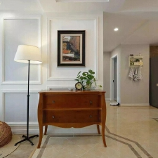 威海鸿图装饰 100㎡美式简约风格装修,尽享明快自由的生活!