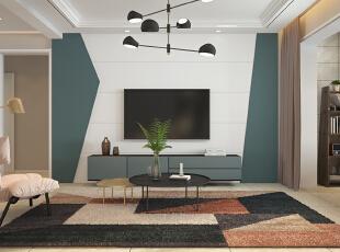 ,客厅,白色,相片墙,
