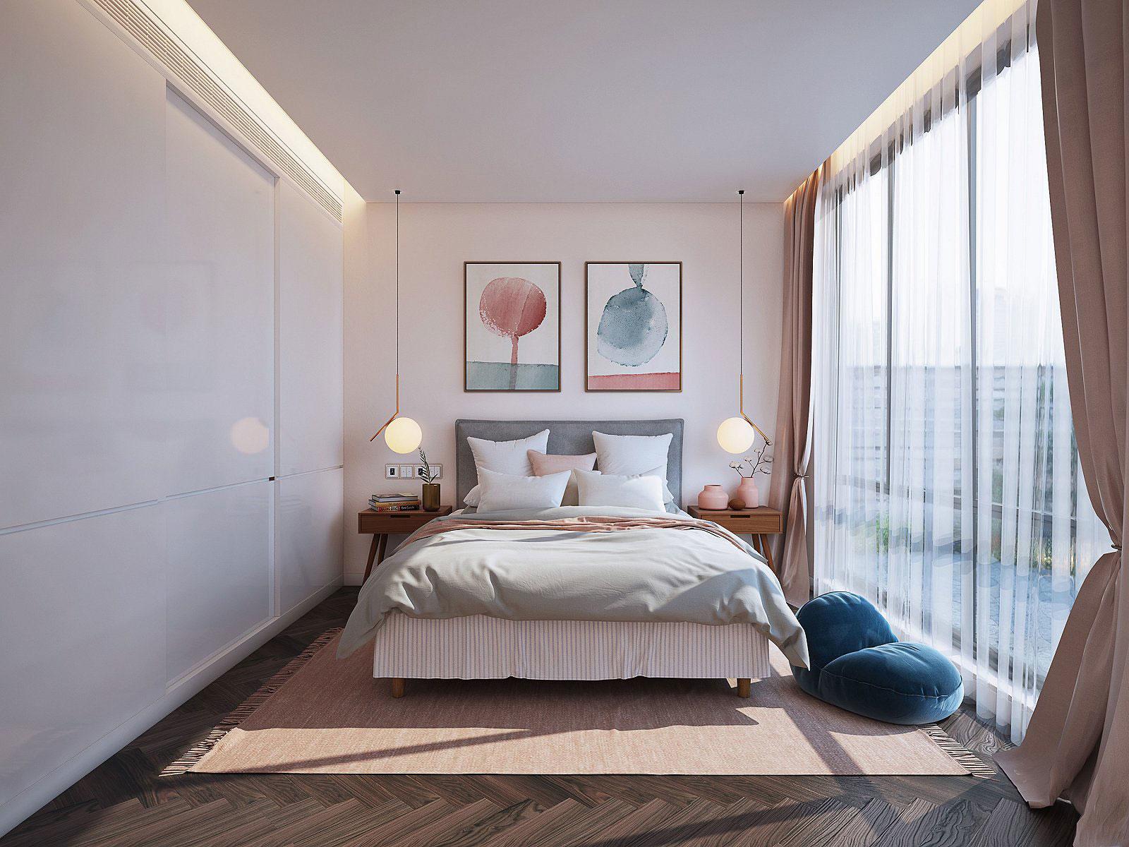 背景墙 房间 家居 起居室 设计 卧室 卧室装修 现代 装修 1600_1200