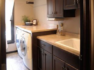 ,传统格调,洗衣房,
