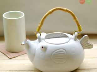 工艺: 彩绘     材质: 陶瓷     风格: 日式  ,东方风韵,水壶,