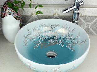 颜色分类: 地中海木槿 果绿金梅花 红色,传统格调,浴室台盆,